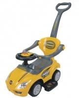 Jezdítko,odstrkovadlo, odrážedlo CAR - žluté