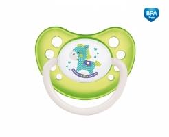 Dudlík anatomický Canpol Babies 6-18m B, Toys -  koníček zelený