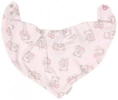 Dětský šátek na krk Mamatti Roztomilý Medvídek