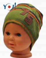 Podzimní čepička YO ! č. 75 - khaki