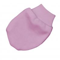 Bavlněné kojenecké rukavičky Baby Nellys ® - růžové