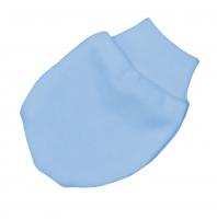 Bavlněné kojenecké rukavičky Baby Nellys ® - modré