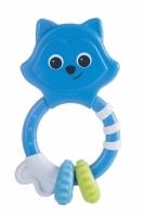 Chrastítko, kousátko Canpol Babies Koťátko - modré