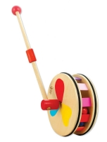 Dřevěná jezdící hračka DUHA