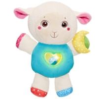 Ovečka s noční lampičkou a chrastítkem Chicco - First Love