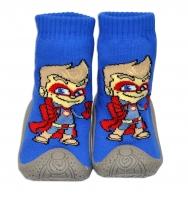 YO ! Ponožtičky s gumovou šlapkou - Superhrdina