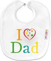 Bryndáček bavlna - I love Dad