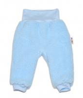 Chlupáčkové kalhoty, tepláčky  Baby Nellys ® - modré