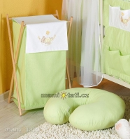 Luxusní praktický koš na prádlo - HOUPAČKA zelená