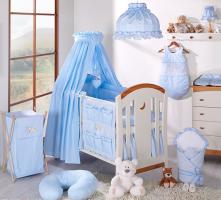 Luxusní mega set s výšivkou CL - Snílek modrý