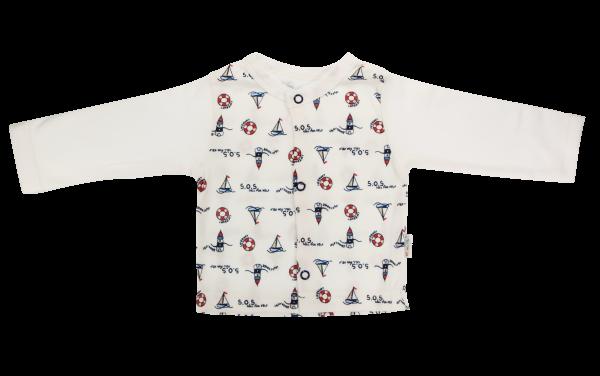 Mamatti Bavlněná košilka Maják, bílá