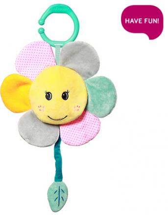 BabyOno Závěsná plyšová hračka s melodií  - My Sunshine