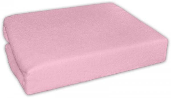 Baby Nellys Dětské prostěradlo do postýlky 70x140 - jersey, růžové
