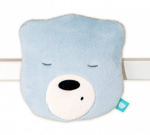 Szumisie Mini šumící Medvídek - hlava - sv. šedá