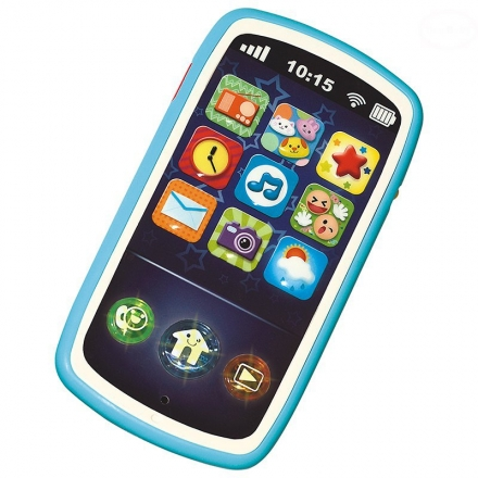 Interaktivní hračka Euro Baby Smartphone Smily