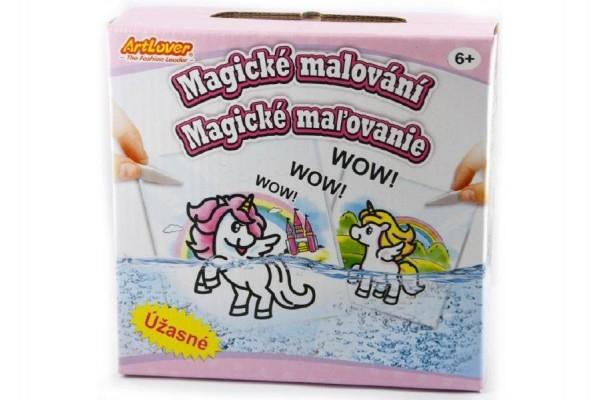 Magické malování kreativní sada v krabici 15x15x4cm