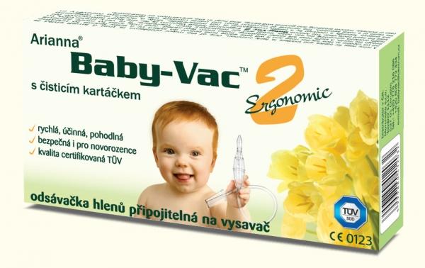 Morchella Kojenecká odsávačka hlenů - Arianna Baby-vac 2 s čisticím kartáčkem
