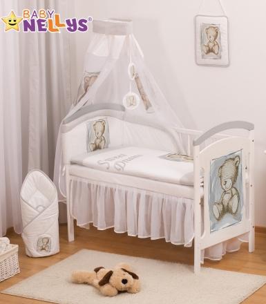 Baby Nellys Šifónová nebesa Sweet Dreams by TEDDY - šedé/bílé