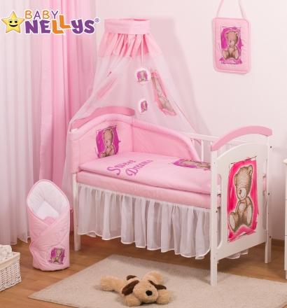 Baby Nellys Šifónová nebesa Sweet Dreams by TEDDY - růžové/bílé