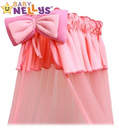 Baby Nellys Nebesa šifon - růžové