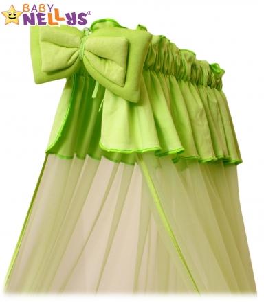 Baby Nellys Nebesa šifon - zelené