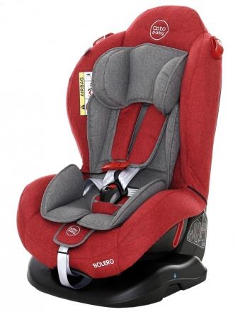 Coto Baby Autosedačka Bolero - 0-25 kg - 2019 -červená,šedá