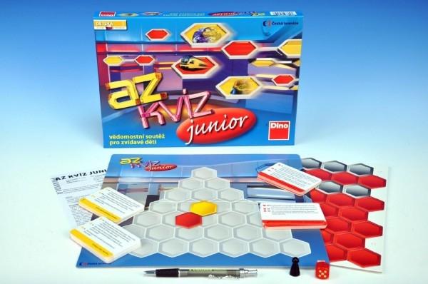 AZ kvíz junior společenská hra 10+ v krabici 33x23x3,5cm