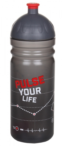 Zdravá láhev - 0,7l - Pulse - černá