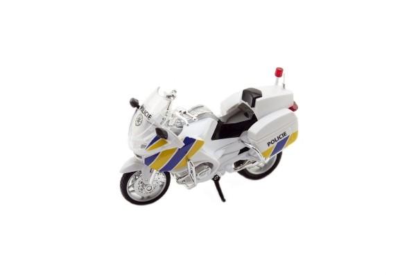 Motorka Záchranáři 112 policie plast 12cm v krabičce český design