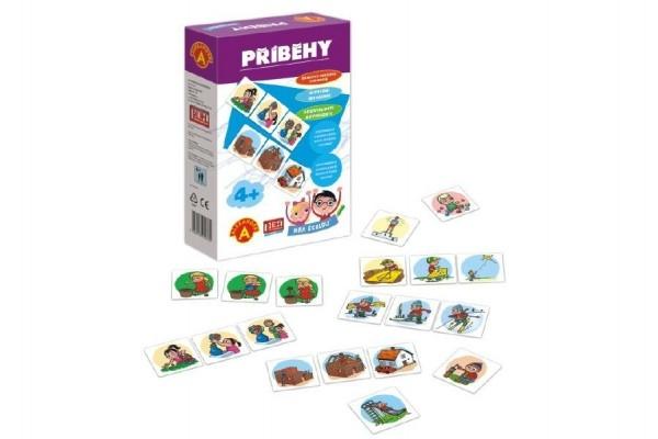 Hra školou® Příběhy kreativní a naučná hra v krabici 16x25x5cm