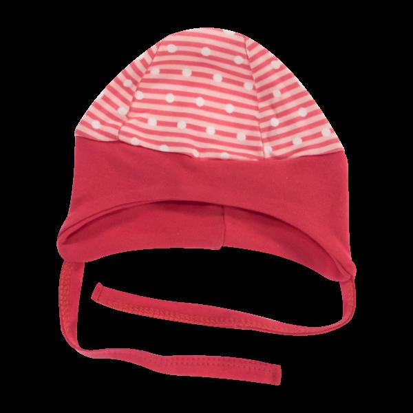 Čepička na zavazování Love Girl, červená, vel. 68, Velikost: 68 (4-6m)