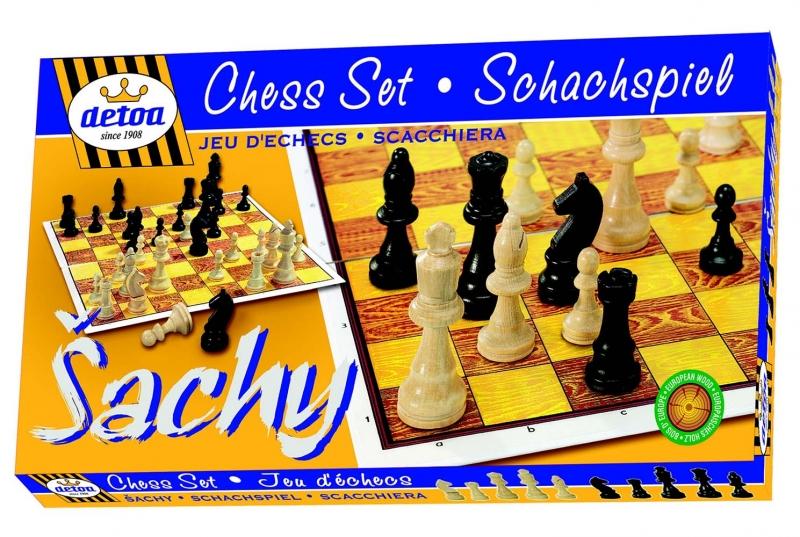 Hra Šachy KLASIK, dřevěné