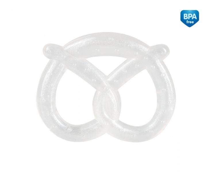 Canpol babies Elastické kousátko Preclíček  - bílé