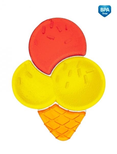 Kousátko vodní zmrzlina - žluto/červená