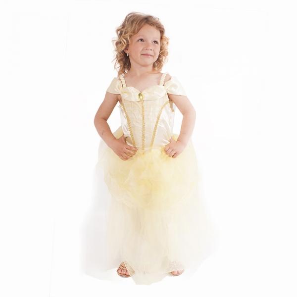 Kostým princezna žlutá vel. M
