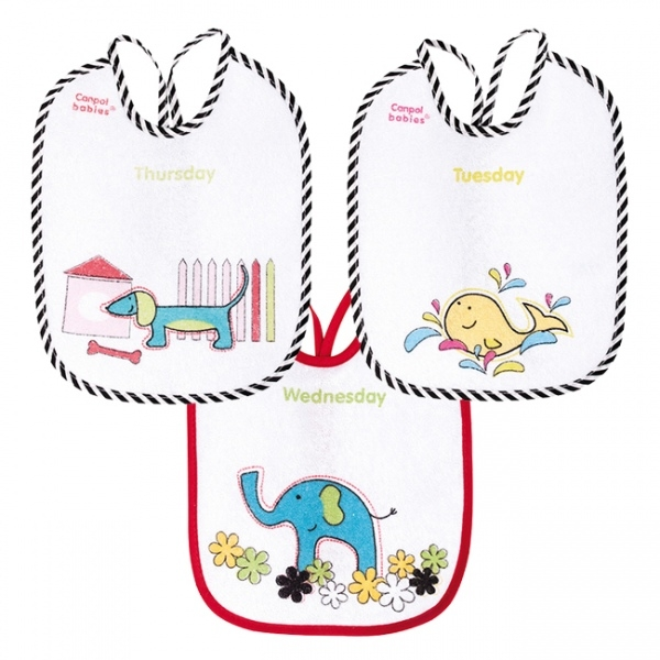Bryndáčky Canpol Babies 7 ks - Barevné zvířatka