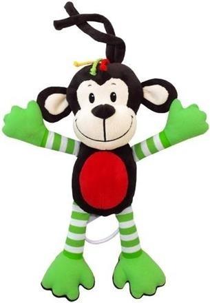 Baby Mix Závěsná hračka Opička