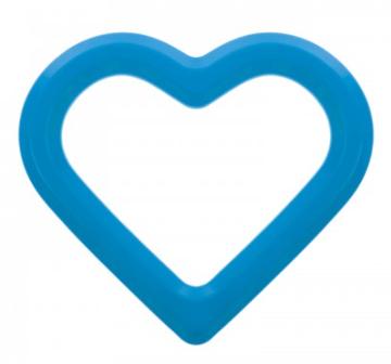 AKUKU Vodní kousátko Srdce - modré