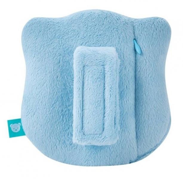 Szumisie Mini šumící Medvídek - hlava - modrá