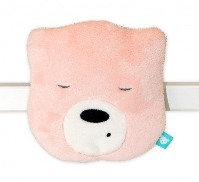 Szumisie Mini šumící Medvídek - hlava - sv. růžová