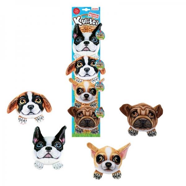 Kulíšci - plyšoví psi, 9 cm
