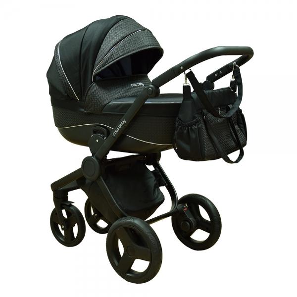 Coto Baby Kočárek ETNA 2019, 2v1 - Černý