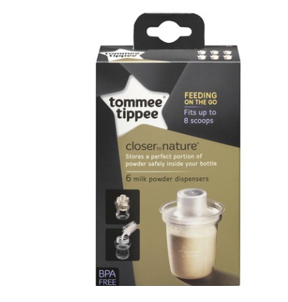 Tommee Tippee Dávkovač sušeného mléka  - 6 ks