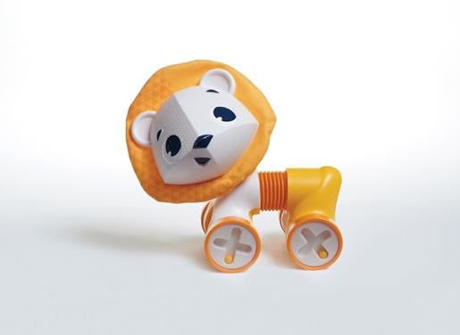 Interaktivní hračka 18 cm, Lev Leonardo