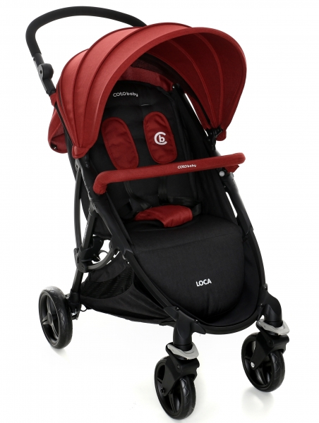 Coto Baby Luxusní sportovní kočárek LOCA 2020 - červený