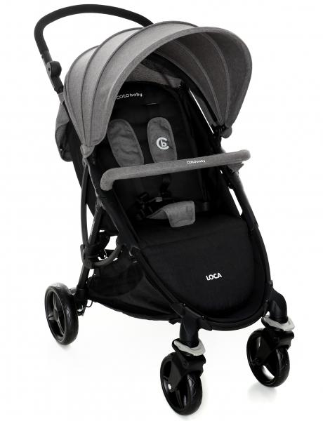 Coto Baby Luxusní sportovní kočárek LOCA 2020 - šedý