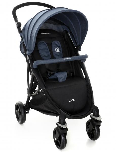 Coto Baby Luxusní sportovní kočárek LOCA 2020 - jeans