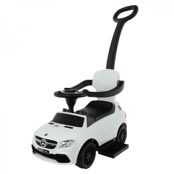 Euro Baby Jezdítko, odstrkovadlo Mercedes Benz -  bílé, D19