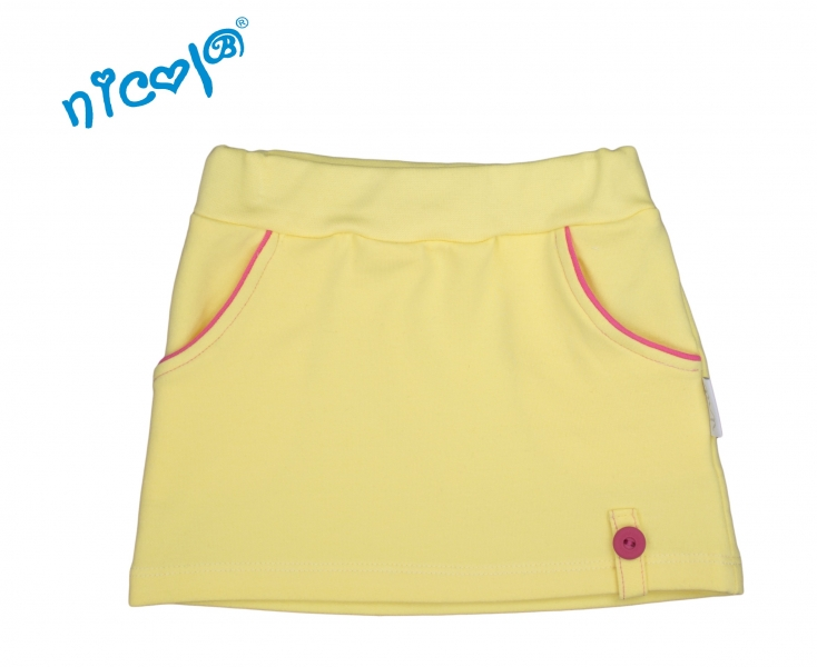 Kojenecká sukně Lady - žlutá, vel. 74
