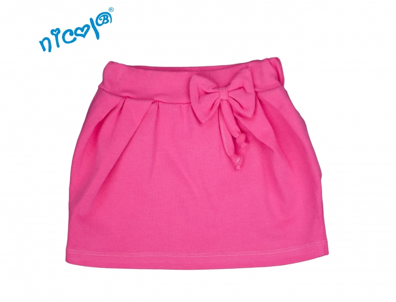 Kojenecká sukně Lady s mašlí - růžová, vel. 98